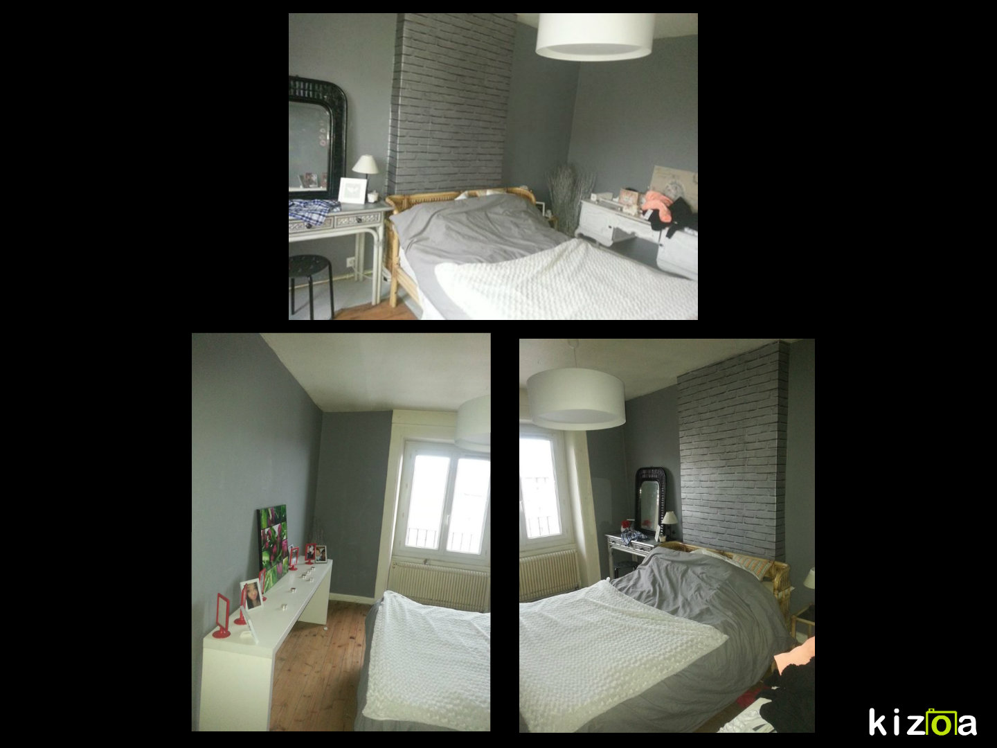 transformation d une chambre de 12m2 en un dressing deux parties photo avant. Black Bedroom Furniture Sets. Home Design Ideas